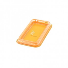 NedRo - Siliconen Bumper voor de iPhone 4 en 4S - iPhone telefoonhoesjes - YAI473 www.NedRo.nl