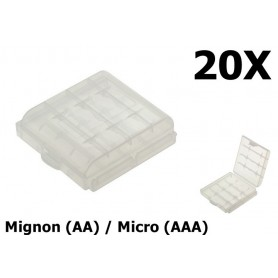 OTB - Transportbox battery Mignon (AA) / Micro (AAA) - Battery accessories - ON1322-CB www.NedRo.us