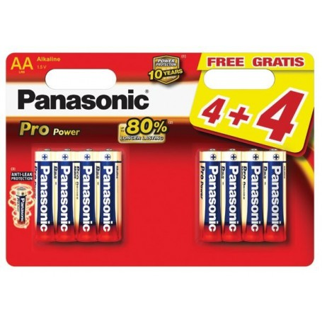 Panasonic - Panasonic Alkaline PRO Power LR6/AA - AA formaat - BL042-CB www.NedRo.nl