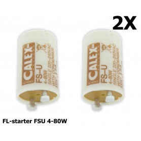 Calex - FL-starter FSU 4-80W, single - TL and Components - CA040-CB www.NedRo.us