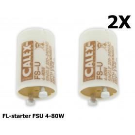 Unbranded, TL-Starter FSU 4-80W, enkel - 2 Stuks, TL en Componenten, CA040-CB, EtronixCenter.com