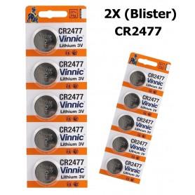 Vinnic - Vinnic Lithium CR2477 P120 - Button cells - BL152-2X www.NedRo.us