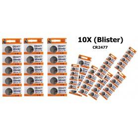 Vinnic - Vinnic Lithium CR2477 P120 - Button cells - BL152-10X www.NedRo.us