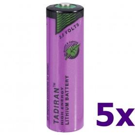 Tadiran - Tadiran SL-760 AA Lithium batterij 3.6V - AA formaat - NK181-5x www.NedRo.nl