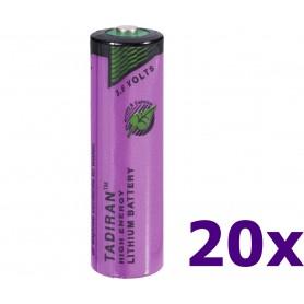 Tadiran - Tadiran SL-760 / 1/2 AA lithium battery 3.6V - Size AA - NK181-20x www.NedRo.us
