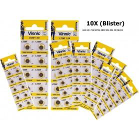 Vinnic - Vinnic AG2 G2 L726 SR726 SR59 396 556 29 RW411 - Button cells - BL182-CB