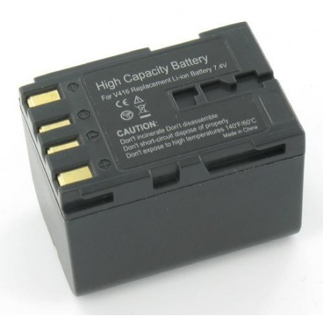 NedRo - Battery compatible with JVC BN-V416 - JVC photo-video batteries - GX-V157