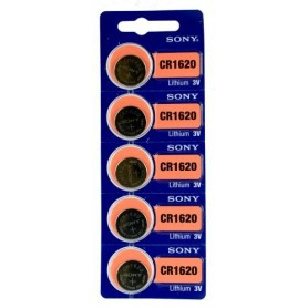 Sony CR1620 / DL1620 3V Lithium button cell battery