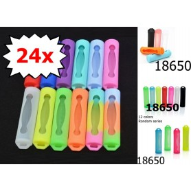 NedRo - Silicone Holder Set for 18650 Battery - Other - NK122-24x www.NedRo.us