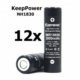 KeepPower - KeepPower 18650 IMR18650 3000mAh - 20A Rechargeable Battery - Size 18650 - BL013-CB