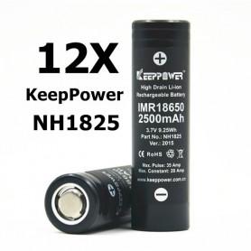 KeepPower - KeepPower 18650 NH1825 Oplaadbare batterij - 18650 formaat - BL012-12X www.NedRo.nl
