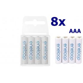 Panasonic - AAA R3 Panasonic Eneloop Oplaadbare Batterijen - AAA formaat - ON1191-8x www.NedRo.nl