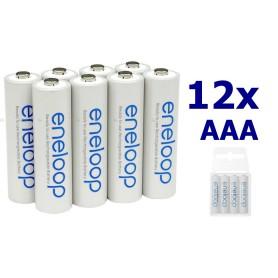 Eneloop - Panasonic Eneloop AAA R3 Rechargeable Battery - Size AAA - ON1191-12x www.NedRo.us