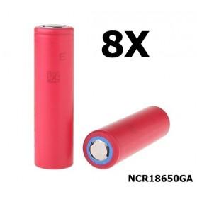 Sanyo - Sanyo NCR18650GA 18650 Li-ion - 18650 formaat - NK051-8X www.NedRo.nl