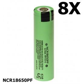 Panasonic - Panasonic battery NCR18650PF 10A 18650 2900mAh - Size 18650 - NK079-8X www.NedRo.us