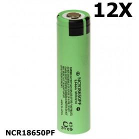 Panasonic - Panasonic battery NCR18650PF 10A 18650 2900mAh - Size 18650 - NK079-12X www.NedRo.us