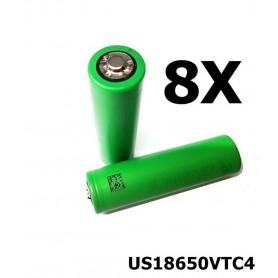 Sony - Sony Konion US18650VTC4 18650 - 18650 formaat - NK108-8X www.NedRo.nl