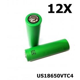 Sony - Sony Konion US18650VTC4 18650 - 18650 formaat - NK108-12X www.NedRo.nl
