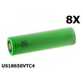 Sony - Sony Konion US18650VTC4 18650 - Size 18650 - NK076-8X www.NedRo.us
