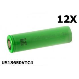 Sony - Sony Konion US18650VTC4 18650 - Size 18650 - NK076-12X www.NedRo.us