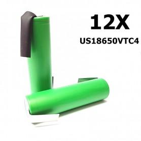 Sony - Sony Konion US18650VTC4 18650 - Size 18650 - NK111-12X www.NedRo.us