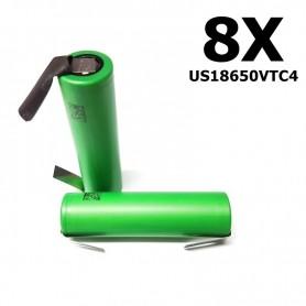 Sony - Sony Konion US18650VTC4 18650 - Size 18650 - NK110-8X www.NedRo.us