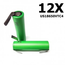 Sony - Sony Konion US18650VTC4 18650 - Size 18650 - NK110-12X www.NedRo.us