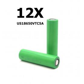 Sony - Sony Konion US18650VTC5A 35A - 18650 formaat - NK078-12X www.NedRo.nl