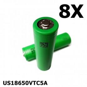 Sony - Sony Konion US18650VTC5A 35A - 18650 formaat - NK109-8X www.NedRo.nl