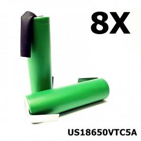 Sony - Sony Konion US18650VTC5A 35A - Size 18650 - NK115-8X www.NedRo.us