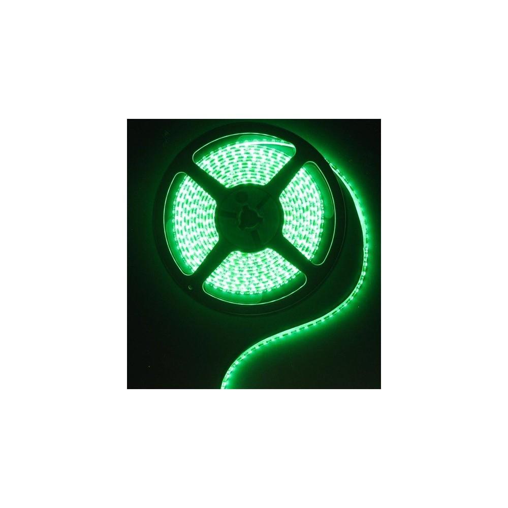 Unbranded - 1M IP65 SMD5630 Green 12V Led Strip 60LED/M AL200-14 - Benzi cu LED-uri - AL200-14 www.NedRo.ro