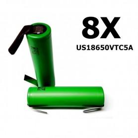 Sony - Sony Konion US18650VTC5A 35A - Size 18650 - NK113-8X www.NedRo.us