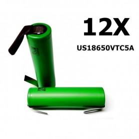 Sony - Sony Konion US18650VTC5A 35A - Size 18650 - NK113-12X www.NedRo.us