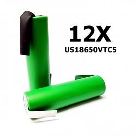 Sony - Sony Konion US18650VTC5 2600mAh 30A 18650 - Size 18650 - NK114-12X www.NedRo.us