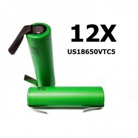 Sony - Sony Konion US18650VTC5 2600mAh 30A 18650 - Size 18650 - NK112-12X www.NedRo.us