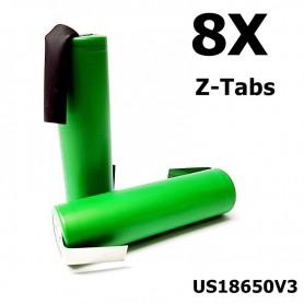 Sony - Sony Konion US18650V3 2250mAh 18650 3.7V 10A Rechargeable - Size 18650 - NK117-8x www.NedRo.us