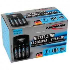 Ansmann - Ansmann Nikkel-Zink Batterijlader - Batterijladers - NK191 www.NedRo.nl