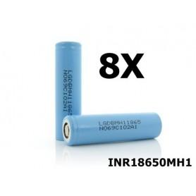 LG - LG INR18650MH1 3200mAh oplaadbaar batterij - 18650 formaat - NK075-8X www.NedRo.nl