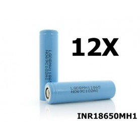 LG - LG INR18650MH1 3200mAh rechargeable battery - Size 18650 - NK075-12X www.NedRo.us