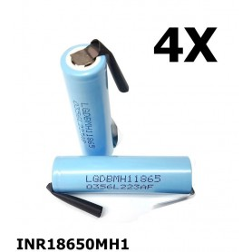 LG - LG INR18650MH1 3200mAh rechargeable battery - Size 18650 - NK075-C www.NedRo.us