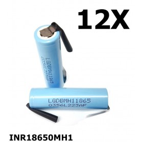 LG - LG INR18650MH1 3200mAh rechargeable battery - Size 18650 - NK118-12X www.NedRo.us