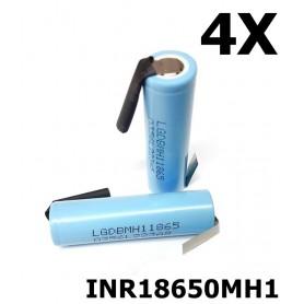 LG - LG INR18650MH1 3200mAh 10A baterie reîncărcabilă de 3,6V cu litiu - Format 18650 - NK075-CB www.NedRo.ro
