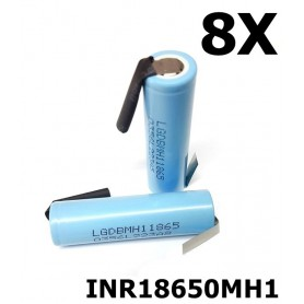 LG - LG INR18650MH1 3200mAh rechargeable battery - Size 18650 - NK119-8X www.NedRo.us