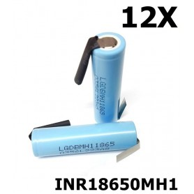 LG - LG INR18650MH1 3200mAh rechargeable battery - Size 18650 - NK119-12X www.NedRo.us
