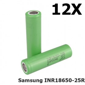 Samsung - Samsung INR18650-25R 20A - 18650 formaat - NK056-12X www.NedRo.nl