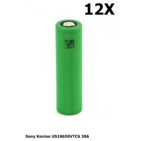 Sony - Sony Konion US18650VTC6 30A 18650 - 18650 formaat - NK157-12X www.NedRo.nl