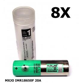 MXJO - MXJO IMR18650F 20A - 18650 formaat - NK162-8X www.NedRo.nl