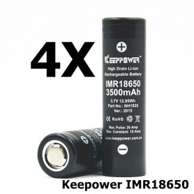 KeepPower - Keepower IMR18650 Rechargeable Battery NH1835 - Size 18650 - NK175-4X www.NedRo.us