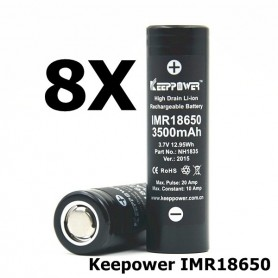 KeepPower - Keepower IMR18650 Rechargeable Battery NH1835 - Size 18650 - NK175-CB www.NedRo.us