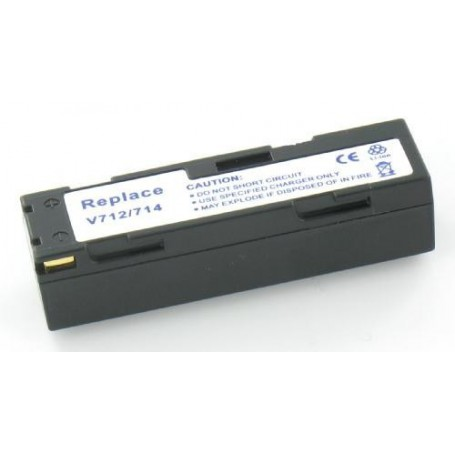 NedRo - Accu Batterij compatible met JVC BN-V712 / BN-V714 - JVC foto-video batterijen - V160 www.NedRo.nl